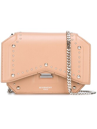 bow mini bag crossbody bag nude