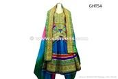 dress,handmade,saneens afghan dress,afghanistan fashion,afghan online bazaar