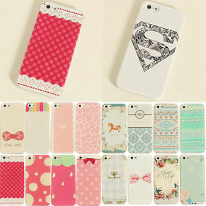 Phone Painted Various Pattern Hard Skin Case Cover for Apple iPhone4 4S 5 5S | eBay