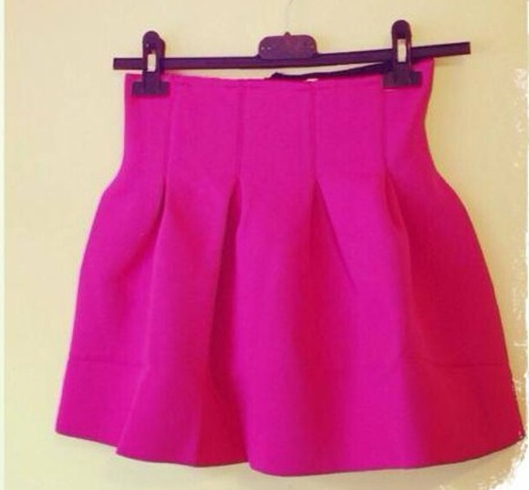 skirt short skirt pink pink skirt mini skirt