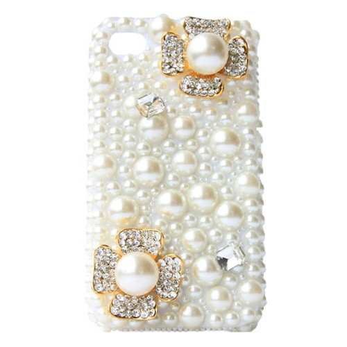 Pearls of extravagance iphone 4/4s case