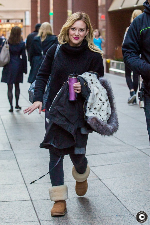 boots hilary duff fall outfits ugg boots