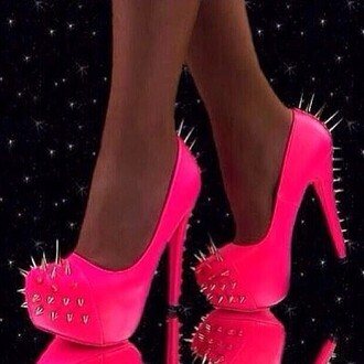 shoes spiked shoes