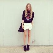 shorts,skorts,white skort,wrap skort,icifashion,ici fashion,t-shirt