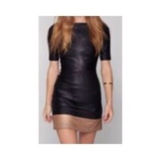 dress black dress brand mini dress