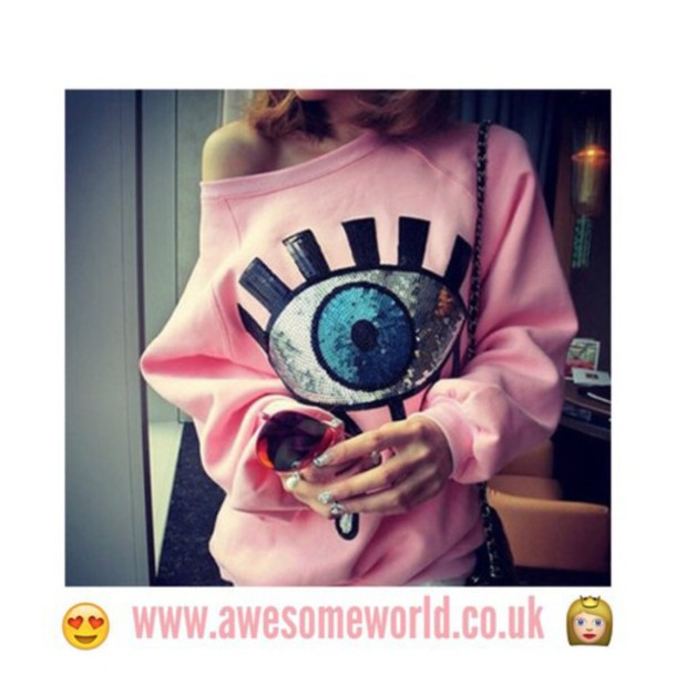sweater pink white girly girl girly wishlist