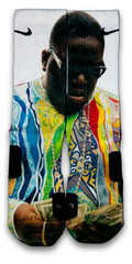 Biggie Nike Custom Elite Socks | CustomizeEliteSocks.com™