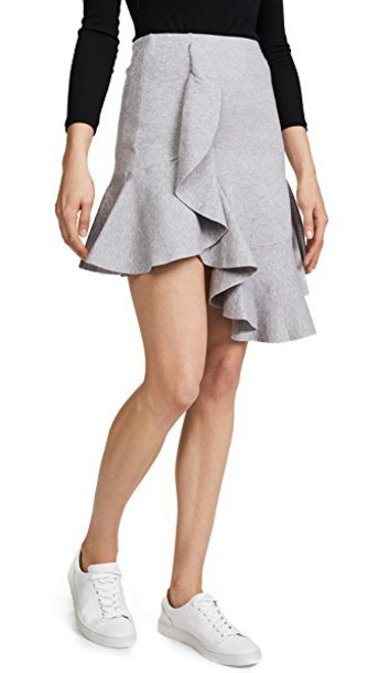 C/MEO COLLECTIVE skirt knit grey