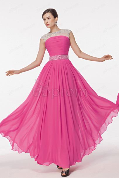dress, crystal prom dresses, long prom dress, modest prom dresses ...