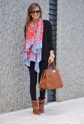 scarf,skull,violet,coral,red,purple,long scarf,bag