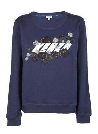 sweatshirt floral sweater