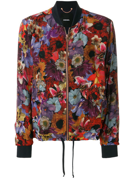 Diesel - G-Maia bomber jacket - women - Polyester/Rayon - S, Polyester/Rayon