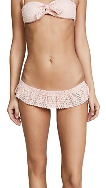 Melissa Odabash bikini crochet bikini bikini bottoms crochet blush swimwear