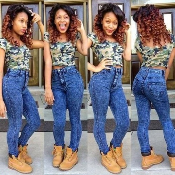 Camouflage High Waisted Pants - Shop for Camouflage High Waisted ...