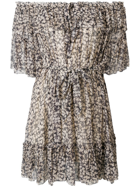 Zimmermann dress floral dress women floral black silk
