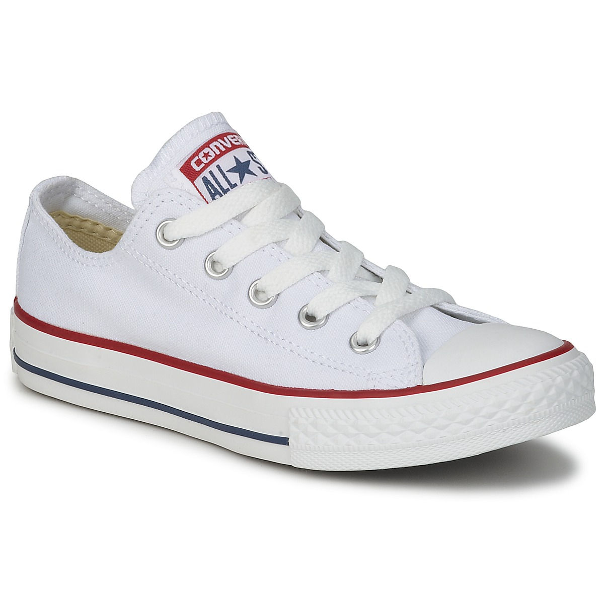 faadf11cffd6 Deportivas bajas Converse ALL STAR OX Blanco   Optical - Entrega ...