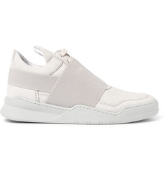 Filling Pieces - Ghost Nubuck Sneakers