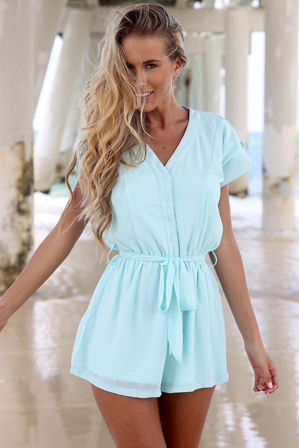 dress ustrendy playsuit romper ustrendy romper chiffon playsuit chiffon romper summer