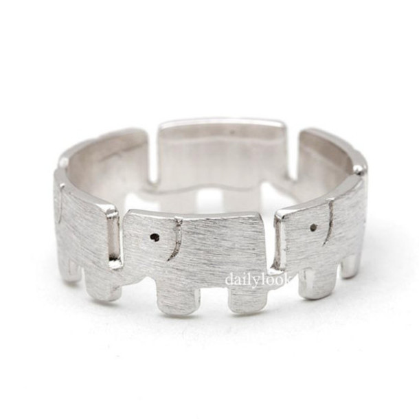 jewels jewelry ring animal ring elephant elephant ring animal jewelry cute ring girl ring