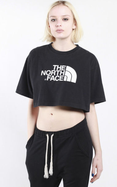 8f8f0a1890629 top, crop tops, north face, north face, north face crop top, the ...
