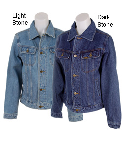 Lee rider women's blue denim jacket