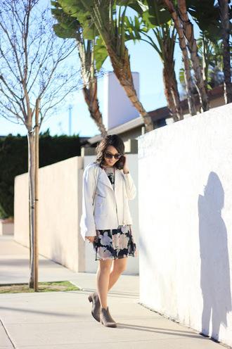 bag sunglasses refined couture blogger jacket dress shoes