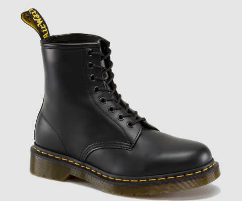 Dr Martens 1460 BLACK SMOOTH - Doc Martens Boots and Shoes