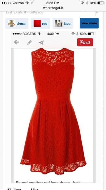dress red dress lace dress redlace red prom dress red lace dress