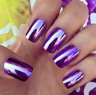 nail polish shin purple purple nails