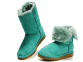 shoes,ugg mint green boots,ugg 5803,ugg bailey button