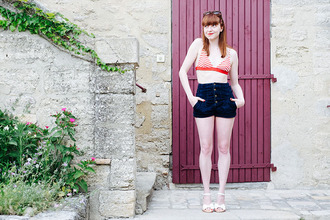 eleonore bridge blogger shorts