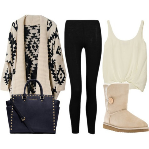 Long Sweaters With Leggings And Boots