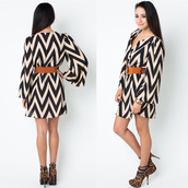 dress,right,direction,zig,zag,chevron,stripes,taupe,black,makeup table,vanity row,dress to kill,mini