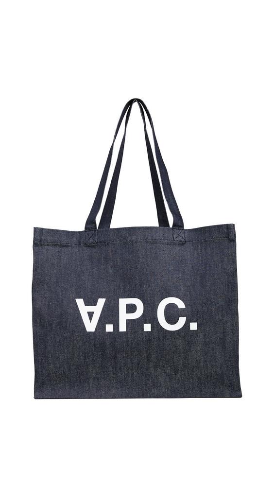 A.P.C. A.P.C. Daniela Shopping Tote in indigo