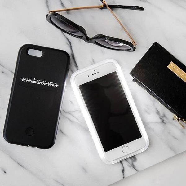 phone cover maniere de voir selfie case light up phone case