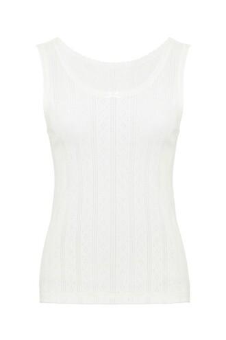 shirt white top sleeveless sleeveless top white lace white shirt