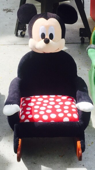 home accessory children's rocking chair furniture mickey mouse home furniture kids fashion kids room disney handmade handmade tote