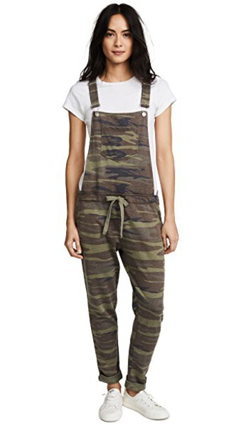 Z Supply overalls green jumpsuit