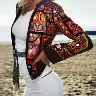 jacket amaxing fashion beach style musthaves beautiful bohemian hippie etno lookbook lotd banjara indian vibes cool unique stylish yolo statement wantie gorgeous perfection fashion inspo yass