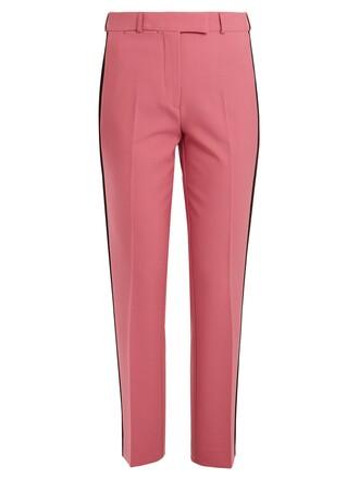 wool pink pants