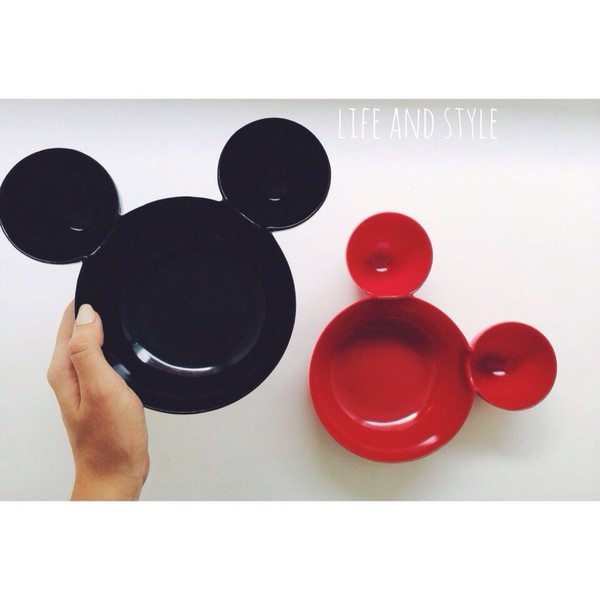 home decor kitchen mickey mouse dinnerware