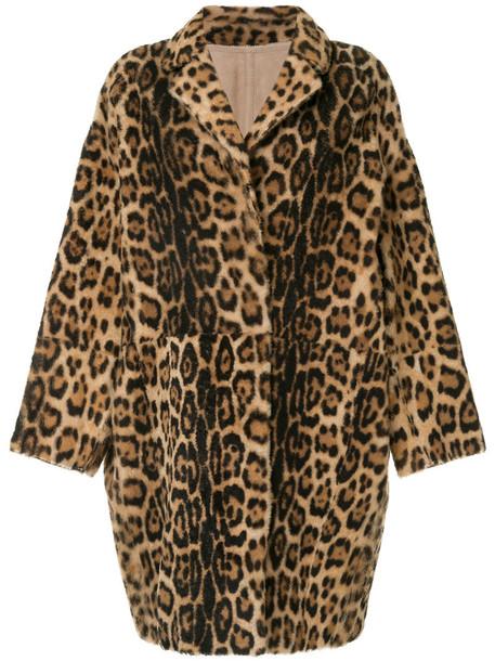 Yves Salomon coat women brown