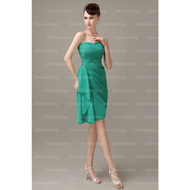 dress green bridesmaid dress bridesmaid