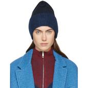beanie,blue,black,hat