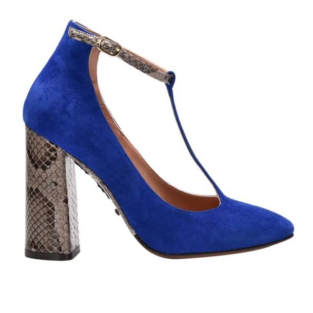 LAutre Chose women pumps shoes navy