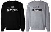 sweater,black sweatshirt,graphic sweatshirt,bff sweaters,friendship sweatshirts