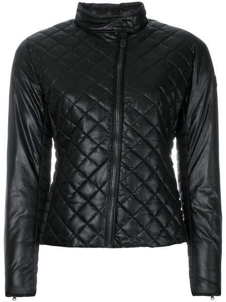 Save The Duck jacket women quilted black