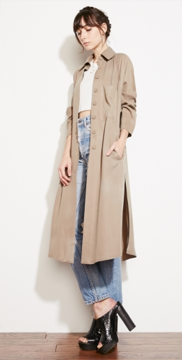 The Reformation :: CLOTHES :: OUTERWEAR :: SYCAMORE COAT