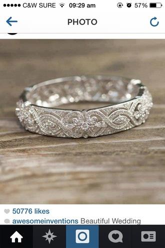 jewels ring wedding wedding ring silver ring
