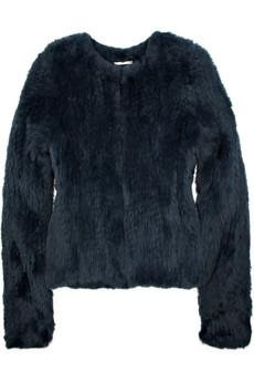 Diane von Furstenberg Jane rabbit box jacket - 55% Off Now at THE OUTNET